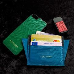 Ready for the night! (Vertstone) Tags: england 6 fashion handmade wallet alligator lizard ostrich luxury iphone cardholder vertstone