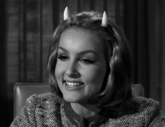 "Julie Newmar, ""Of Late I Think of Cliffordville"" 35 (Tom Simpson) Tags: woman sexy television vintage devil 1960s pinup devlin julienewmar succubus thetwilightzone vintagetelevision"