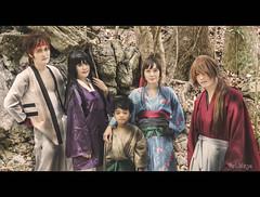 RUROUNI KENSHIN (ArtNinjaph) Tags: mountain anime art movie photography japanese kyoto child cosplay ninja kimono samurai katana cinematic samuraix rurounikenshin aien artninja huntersassociationph artninjaph