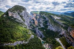 Le Gorges du Verdon [Explored] (Aesum) Tags: landscape provence paesaggio provenza