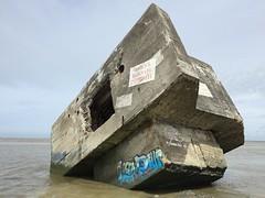 Blockhaus  la pointe du Hourdel  cayeux-sur-mer (stefff13) Tags: pointe picardie blockhaus baie somme cayeuxsurmer hourdel