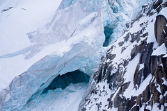 ice caves (sabrandt) Tags: snow france mountains alps ice glacier alpine chamonix montblanc rhonealpes