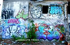 (absolutetrashmag) Tags: absolute trash absolutetrash absolutetrashmag graffiti magazine zine diy new york ny upstate abandoned jono goomba c2c stu aob ammo mars mbod jane tvt ogm put