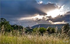 San Severino Marche (Luigi Alesi) Tags: light sky italy sun clouds landscape nikon scenery san italia raw nuvole severino cielo d750 rays sole luce marche paesaggio raggi macerata sanseverino