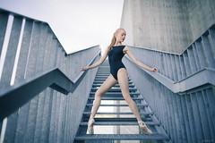 Urban hymns (clogz) Tags: urban ballet concrete dance model dancer blonde bodysuit silja hymns vuosaari