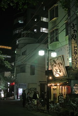 nagoya15376 (tanayan) Tags: road street urban japan night town alley nikon cityscape view nagoya   aichi j1