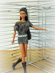 "A-Z Challenge: ""I - Industrial"" (Deejay Bafaroy) Tags: portrait fashion toys doll barbie az portrt makeda adele fr challenge royalty puppe integrity iindustrial i talkingdrama"
