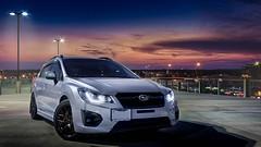 HDR Experiment (Jon Noel) Tags: car photography subaru impreza hatchback subset fb20
