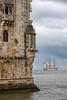Torre de Belém - Lisboa - Portugal (Xtian du Gard) Tags: belém tour tower torre lisboa lisbonne portugal bateau 3mats voilier boats sailingship dockbay dock xtiandugard