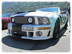 Roush 427R, Ford Mustang (v8dub) Tags: roush 427 r ford mustang schweiz suisse switzerland american muscle pony pkw voiture car wagen worldcars auto automobile automotive