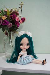DSC_0333 (guilherme purin) Tags: alexis hair teal radiance lolita blythe emerald rbl