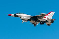 Opposing Solo Thunderbird 6 (SBGrad) Tags: 2016 80200mmf28dafs alr coronado d300s f16 lockheed nasni navalairstationnorthisland nikkor nikon thunderbirds usairforce aircraft airplane jet exif:isospeed=200 camera:model=nikond300s exif:model=nikond300s exif:make=nikoncorporation exif:aperture=80 exif:lens=8002000mmf28 exif:focallength=80mm camera:make=nikoncorporation
