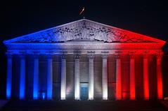 Paris (Yann OG) Tags: paris parisien parisian france français french drapeau flag bleublancrouge bastilleday 14juillet assemblée assembléenationale sigma30mm