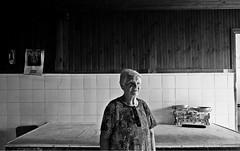 () Tags: portrait old woman granny indoor face people light figure bw blackandwhite monochrome fuji fujix70 greece aspromavro digital