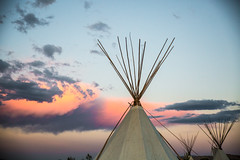 (The Noisy Plume) Tags: powwow tipi teepee idaho forthallreservation
