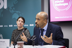 Yacob Mulugetta speaking at #GlobalChallenges climate action event, March 2015 (Overseas Development Institute) Tags: cities business climatechange climate finance greengrowth climateaction globalchallenges overseasdevelopmentinstitute