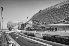 Yas Marina Grand Prix Circuit. (miketonge) Tags: track uae racing grandprix abudhabi circuit formula1 yas hermanntilke yasisland yasmarina yasmarinacircuit yasviceroy
