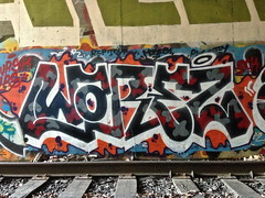 warez (always_exploring) Tags: portland graffiti warez upsk vrsk
