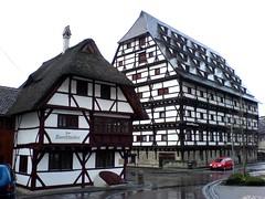 (shortscale) Tags: fachwerk heimatmuseum strohdach geislingen steige kornschreiber