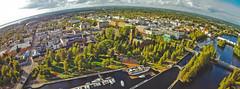 Town of Joensuu (Jon Norppa) Tags: skyline finland aerialphotography joensuu dji easternfinland itsuomi djiphantomvision djiphantomvisionfc200