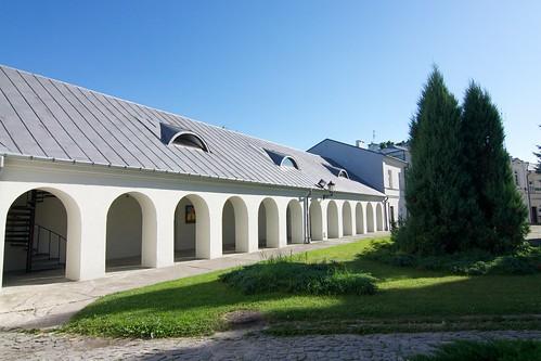 Krużganki południowego budynku gospodarczego w zespole pokatedralnym w Chełmie