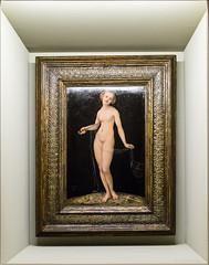 Lucas Cranach d.Ä.: Lucretia, 1532 (Anita Pravits) Tags: vienna wien woman nude akt artgallery suicide exhibition frau academy renaissance ausstellung akademie suizid selbstmord gemäldegalerie akademiederbildendenkünste lucascranachdä acadmeyoffinearts