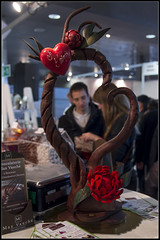 Salon du chocolat (Daenelyn) Tags: france tours vinci 2015 indreetloire salonduchocolat sigma1750mm28 pentaxk5