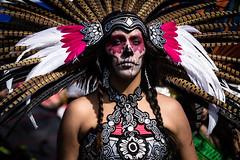 Aztec Dancer (Abel AP) Tags: california people usa aztec culture sanjose event bayarea azteca aztecdancer mexicanculture mexicanamericanculture emmapruschpark abelalcantarphotography aztecamexicanewyear aztecamexicanewyear2015