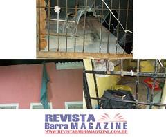 Barra: Dois presos fogem de madrugada da Cadeia de Barra usando um lençol (revistabarramagazine) Tags: lençol barraba fugadepresos delegaciaterritorialdebarra cadeiapublica