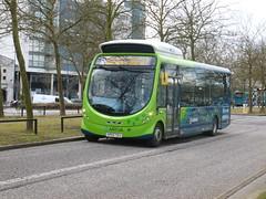 KP63 TEU (markkirk85) Tags: new bus buses wright milton keynes the arriva shires teu 5007 streetlite kp63 112013 kp63teu