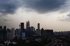 P3280106_@ (alysyafiq) Tags: urban storm rain strike kualalumpur lightning klcc rainclouds citystorm citylightning kualalumpurlightning kualalumpurstorm kualalumpurtrademark