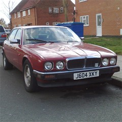 More coming (uk_senator) Tags: red 1991 jaguar xj6 xj40