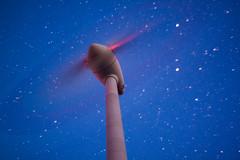 Windmill After Dark - Canon EOS 500D, Pentacon 50mm (baumbaTz) Tags: longexposure motion windmill canon germany stars deutschland eos 50mm star march explore f16 m42 ow pentacon stern märz stade windpower sterne windkraft windkraftanlage langzeitbelichtung windmühle niedersachsen lowersaxony 500d 2015 kutenholz canoneos500d 20150319
