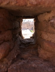 Square through the Palace Wall