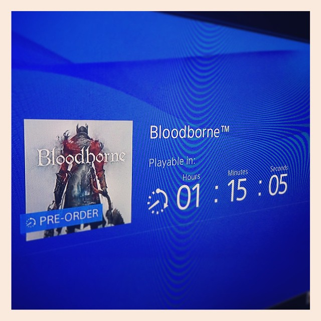 Really torn here. On one hand its bedtime. On the other hand: BLOODBORNE!!!