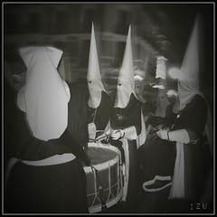 Semana Santa (edu_izu) Tags: zaragoza semanasanta cofradia bwzaragoza
