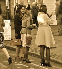 _DSC3076 (petefreeman75) Tags: pink costumes girls sexy panties sepia fun costume cosplay wwii hats skirt 1940s dresses ww2 heels furs bloomers 2014 warweekend seamedstockings wartimeweekend fortiesweekend pickeringwarweekend pickeringwartimeweekend