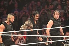 Seth Rollins,Dean Ambrose and Roman Reigns (Mrs. Dean Ambrose) Tags: wwe sethrollins deanambrose romanreigns theshieldwwe