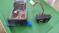 12 Volt/Aux USB Input