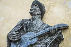 singer (olipennell) Tags: sculpture castle prague skulptur prag praha tschechischerepublik singer sänger burganlage