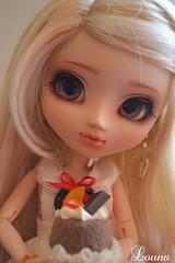 Lily cuisine (~Louna~) Tags: eyes makeup wig pullip custom fc custo obitsu fullcusto nomyens