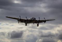 Lancaster. VRA.Humberside.19.8.14 (deltic17) Tags: lancaster ww2 raf avrolancaster bbmf bombercommand cwhm bombercounty
