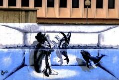 no title* (nothinginside) Tags: street woman art rio river graffiti donna spain no piscina andalucia pop espana swimmingpool whale title andalusia murales malaga untitled marte ballena murale 2015 balena