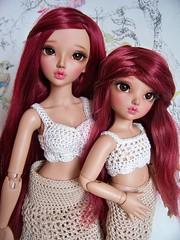 Chloe sisters <3 (DebiDooDoll) Tags: tan chloe minifee littlefee nomyens