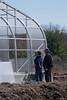 Workers attach panels to Greenhouse (ed dittenhoefer photo) Tags: coltivare farmtobistro tc3barn