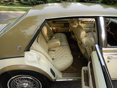 1985 Cadillac Seville (smokuspollutus) Tags: two leather yellow paint exterior interior seville cadillac custom 1985 tone