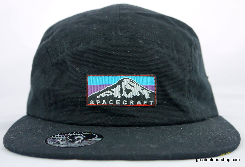 0ecdfddd Spacecraft Rainier 5 Panel Hat in Black (greatoutdoorshop) Tags: black hat  rainier wyoming