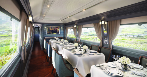 Grand Hibernian Train, Sligo Dining car