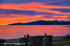 late spring sunsets (Eyesplash - Summer was a blast, for 6 million view) Tags: sunset urban sun beach vancouver intense paradise bc beachlife cbc incredible globaltv vancouversunset insidevancaouver