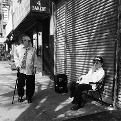 Melvin & Howard (ShelSerkin) Tags: street nyc newyorkcity portrait blackandwhite newyork candid streetphotography squareformat gothamist iphone mobilephotography iphoneography shotoniphone hipstamatic shotoniphone6